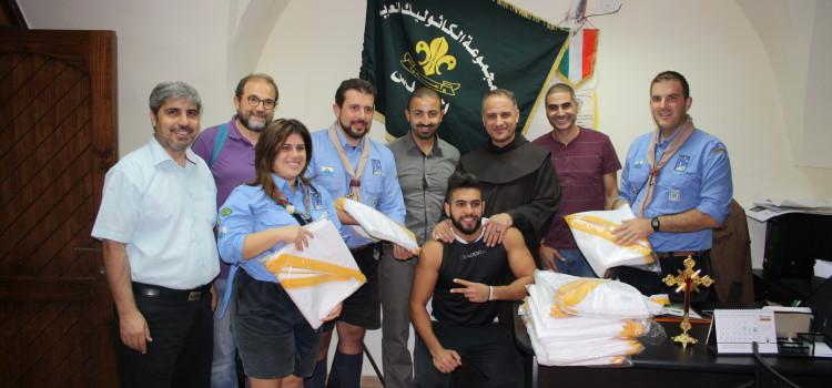L'AGECS incontra il Gruppo Scout Cattolico di Gerusalemme