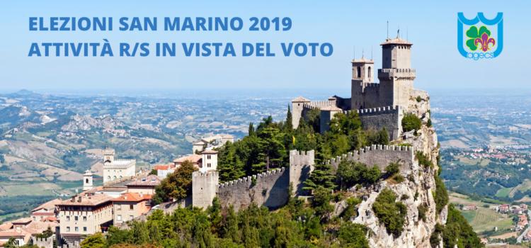 Attività R/S in vista del voto – Elezioni San Marino 2019
